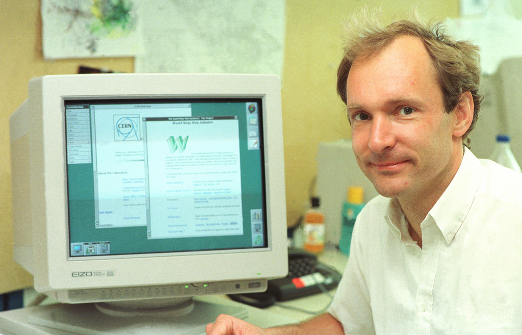 Tim Berners-Lee, From Wikipedia Commons
